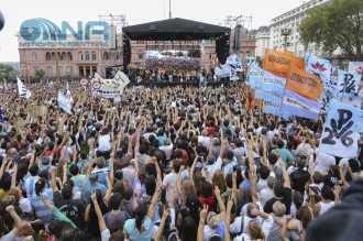 Duro discurso de organizaciones de DDHH contra Macri y Obama