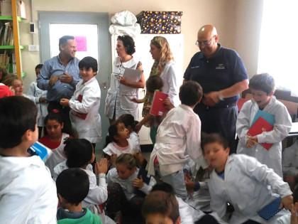 Educación Vial: La Dirección de Tránsito visita distintos establecimientos educativos