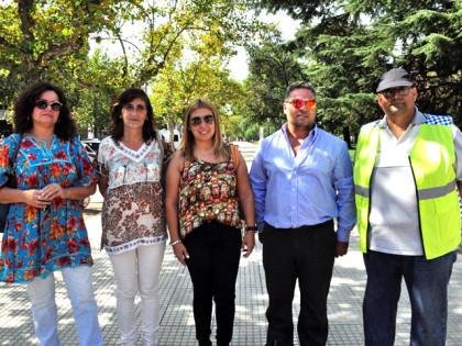 Alumnos llevaron adelante actividades por el Día Mundial del Peatón