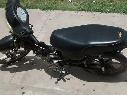 La Policía Comunal recupera una moto sustraída