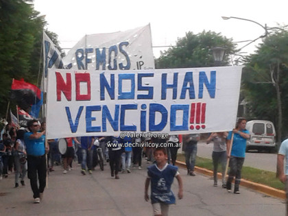 Parque de la Memoria: Marcha y Acto por Memoria, Verdad y Justicia