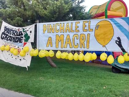 """Publicación pedida: """"Pinchale el globo a Macri"""""""