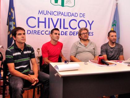 Se presentó la escuela municipal de ciclismo