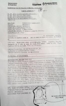Publicación pedida. Colegio de Trabajadores Sociales Distrito Mercedes