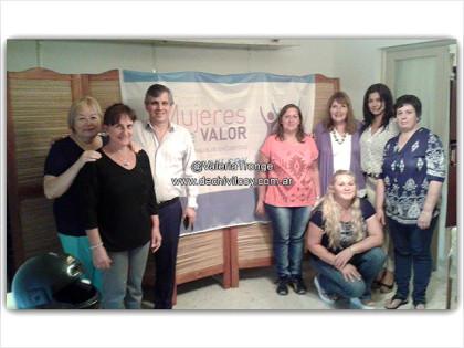 Mujeres de Valor: Encuentro con el Intendente Guillermo Britos