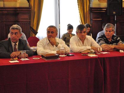 Britos presentó proyectos en reunión con el Ministro Cenzón