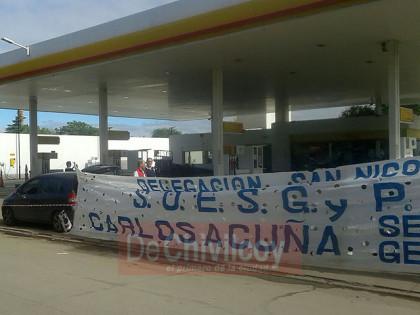 ADELANTO: Conflicto laboral en estación de servicios Shell de Avenida José León Suárez