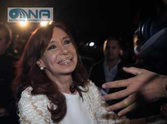 Cristina, en Buenos Aires para declarar