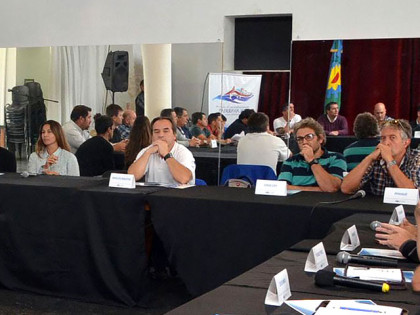 La Dirección de Deportes participó de un encuentro de autoridades en Olavarría