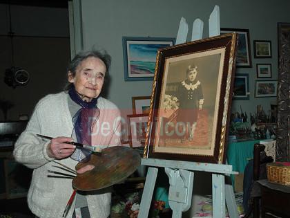 Homenaje a Leontina Poch en la Sociedad Francesa