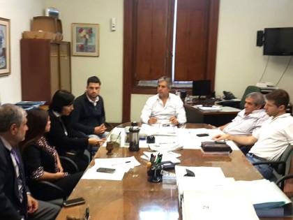 Reunión en el HCD con funcionarios de distintas Secretarias