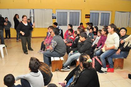 Se inauguró un Rincón de Lectura en el CIC Sur