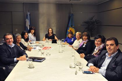 """María Eugenia Vidal se reunió con representantes de la agrupación """"Madres del dolor"""""""
