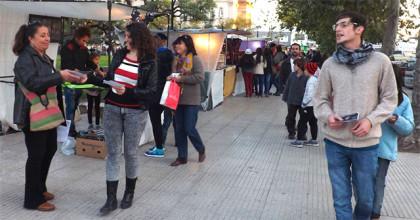 """Nació el grupo """"Diciembre"""" con teatro político en la calle"""