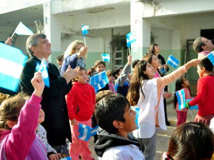El intendente participó de festejos por el Día de la Bandera