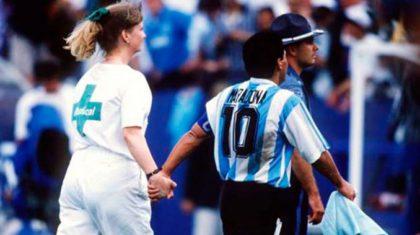 La curiosa frase que le dijo Grondona a Blatter en el antidoping de Maradona