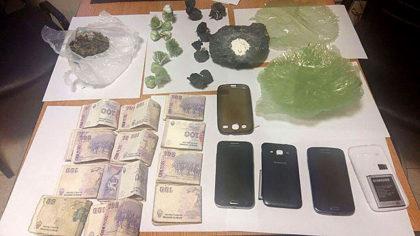 Personal Policial detiene a una persona que comercializaba estupefacientes