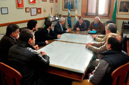 Visita de autoridades del Parque Industrial y la Cámara Empresarial de Mercedes