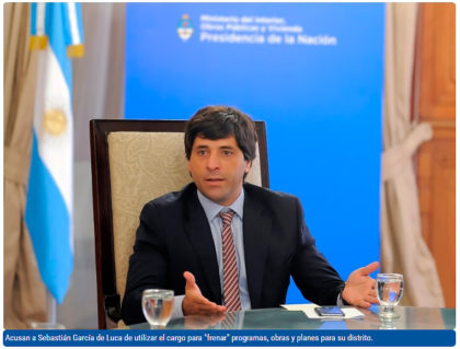 Desde Chivilcoy quieren la salida del viceministro de Interior