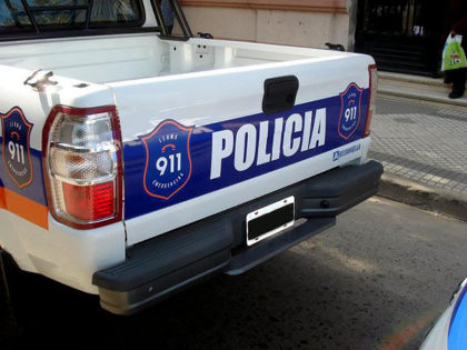Personal policial detiene a un menor que portaba una escopeta en la vía publica
