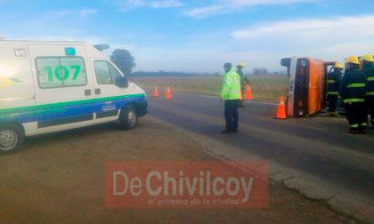 ACTUALIZAMOS (fotos): Accidente en Ruta 30, a la altura de los silos de la firma Alagna