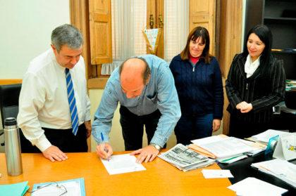 Compromiso entre la Municipalidad y Acrux SRL por la venta de GNC