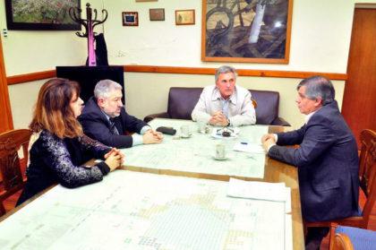 El intendente se reunió con el Juez Giacoia y el Defensor Mahiques