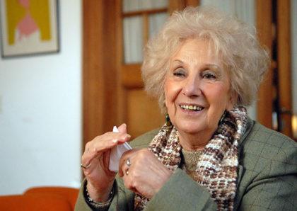 "Estela de Carlotto dijo que ""no es amiga"" de Cristina y admira a Mirtha Legrand"