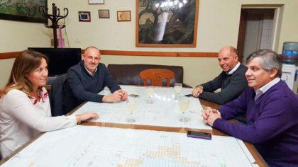 La diputada por el massismo, Valeria Arata, se reunió ayer con Guillermo Britos