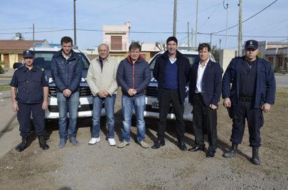 Móviles policiales recuperados en la Planta de Mantenimiento de Automotores