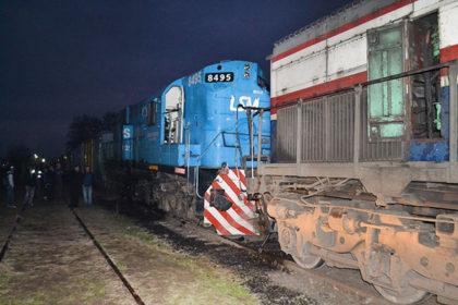 Ferrobaires suspendió sus servicios a raíz del choque de trenes que arrojó un saldo de 30 heridos