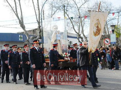 Se llevó a cabo la procesión en honor a la Virgen del Carmen