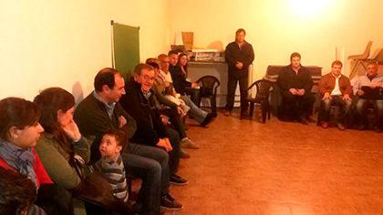El Barrio San José tuvo su primera reunión barrial