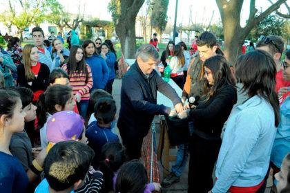 Festejo del Día del Niño en Moquehuá