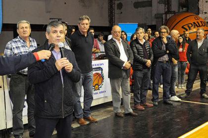 Inauguración del 27° Campeonato Provincial U15 de Básquet