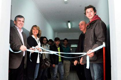 Se inauguraron nuevas aulas en la Escuela Agraria