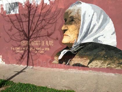 La Maquinaria: Adelina Dematti en las paredes de Chivilcoy