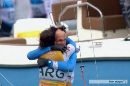 Vela: Santiago Lange y Cecilia Carranza Saroli, campeones olímpicos