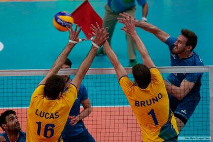 Voley: Argentina no pudo con Brasil y se quedó afuera de los Juegos