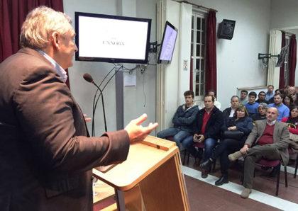 """D'Onofrio en Junín: """"En seguridad, diagnosticamos y proponemos proyectos para mejorar el futuro de todos"""""""