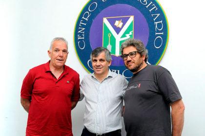 El preparador físico Horacio Ferrer dictó una charla en Chivilcoy