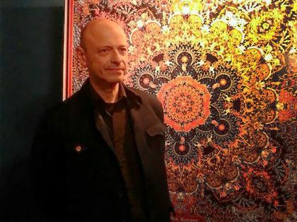 Expuso Alfredo Genovese obras de fileteado porteño