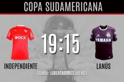 Independiente enfrenta a Lanús, por el pase de ronda
