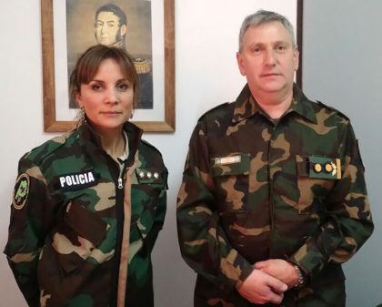 María Guadalupe Fernández es la nueva jefa del Comando de Prevención Rural