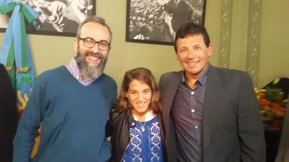 Declaran personalidad destacada del deporte a la judoca Paula Pareto