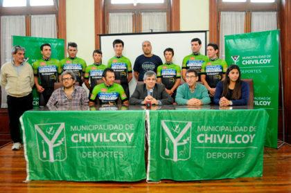 Presentaron el equipo de ciclismo Ciudad de Chivilcoy