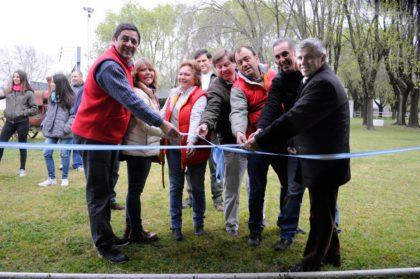 El Intendente participó de la inauguración de la 4º carpa didáctica, en el marco de la 66º Exposición Rural