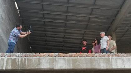 """Taller """"Dignidad"""": Colocaron el techo a la futura sede de la institución"""