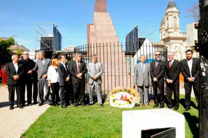 El senador Norberto García presente en el 162º aniversario de Chivilcoy