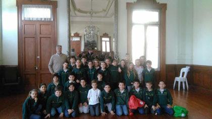 Alumnos del Colegio Crear visitaron la Municipalidad